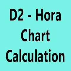 D2 or Hora Chart Calculation Made Easy