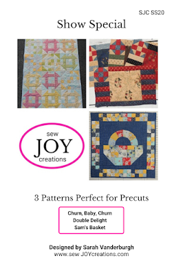 show special patterns perfect for precuts