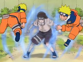 Neji Rotacion Celestial de los Ocho Trigramas, Naruto vs Neji