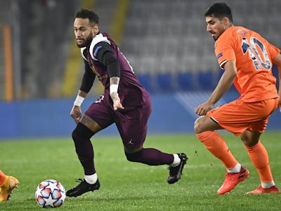 ملخص واهداف مباراة باريس سان جيرمان وباشاك شهير (2-0) دوري ابطال اوروبا