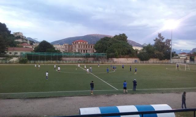Με επιτυχία ο φιλικός αγώνας ποδοσφαίρου στο Δημοτικό Στάδιο Φιλιατών