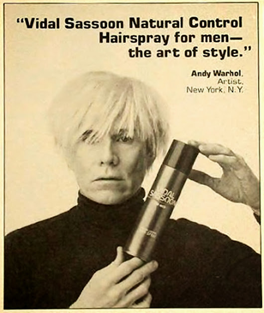 #TributeWarhol Advertising