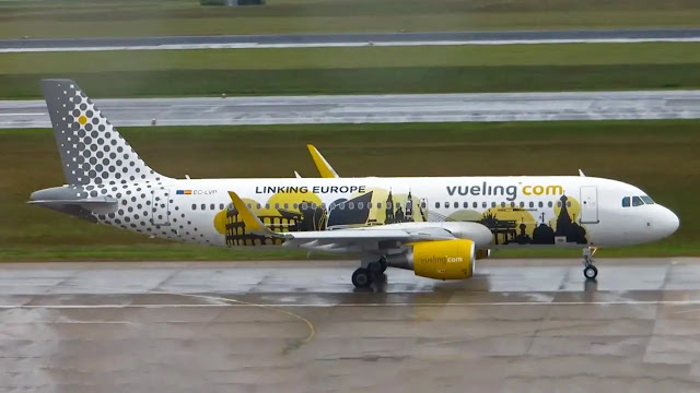 3. Vueling Budget Airlines in Europe
