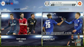 FIFA 14 Mod FIFA 18 by Hafiz Apk Data Obb for Android