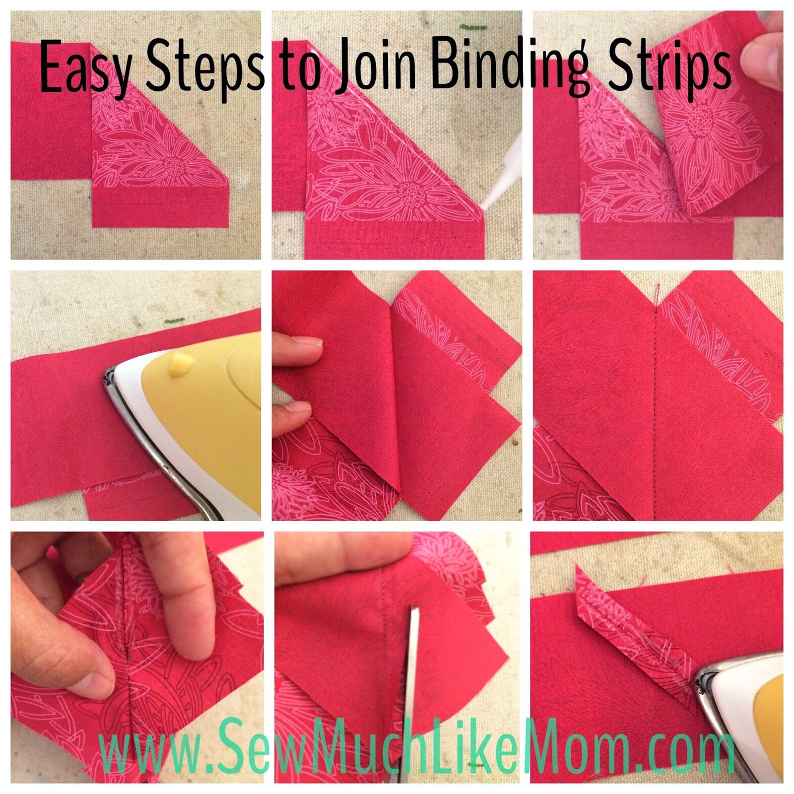 Easy Steps To Join Binding Strips