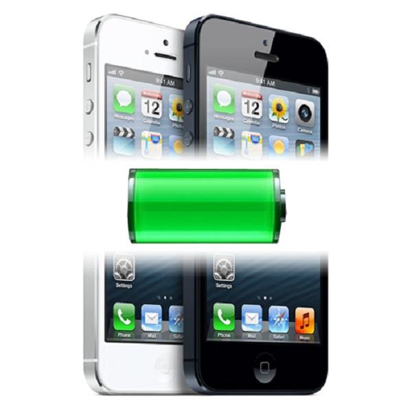 iPhone 5 bị chai pin