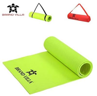 Brandvilla Yoga Mat With Carrying Bag