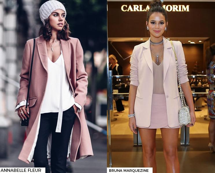 Últimas Tendências e Novidades da Moda • Rosa Blush