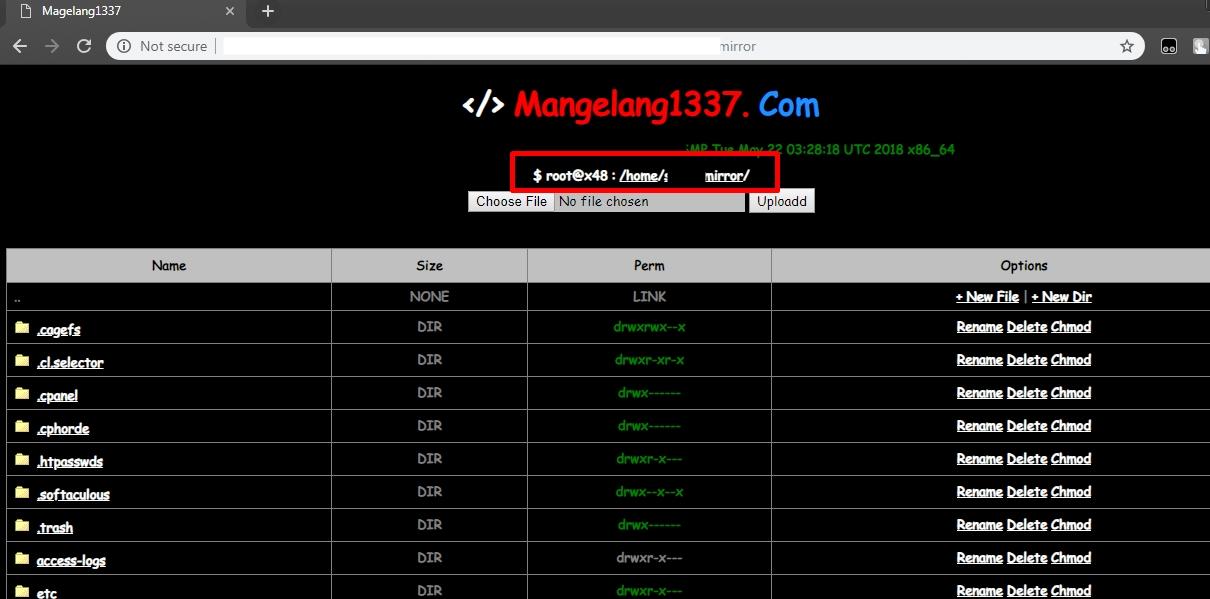 Cara Hack Cpanel Website Tanpa Crack - MNH-BLOG