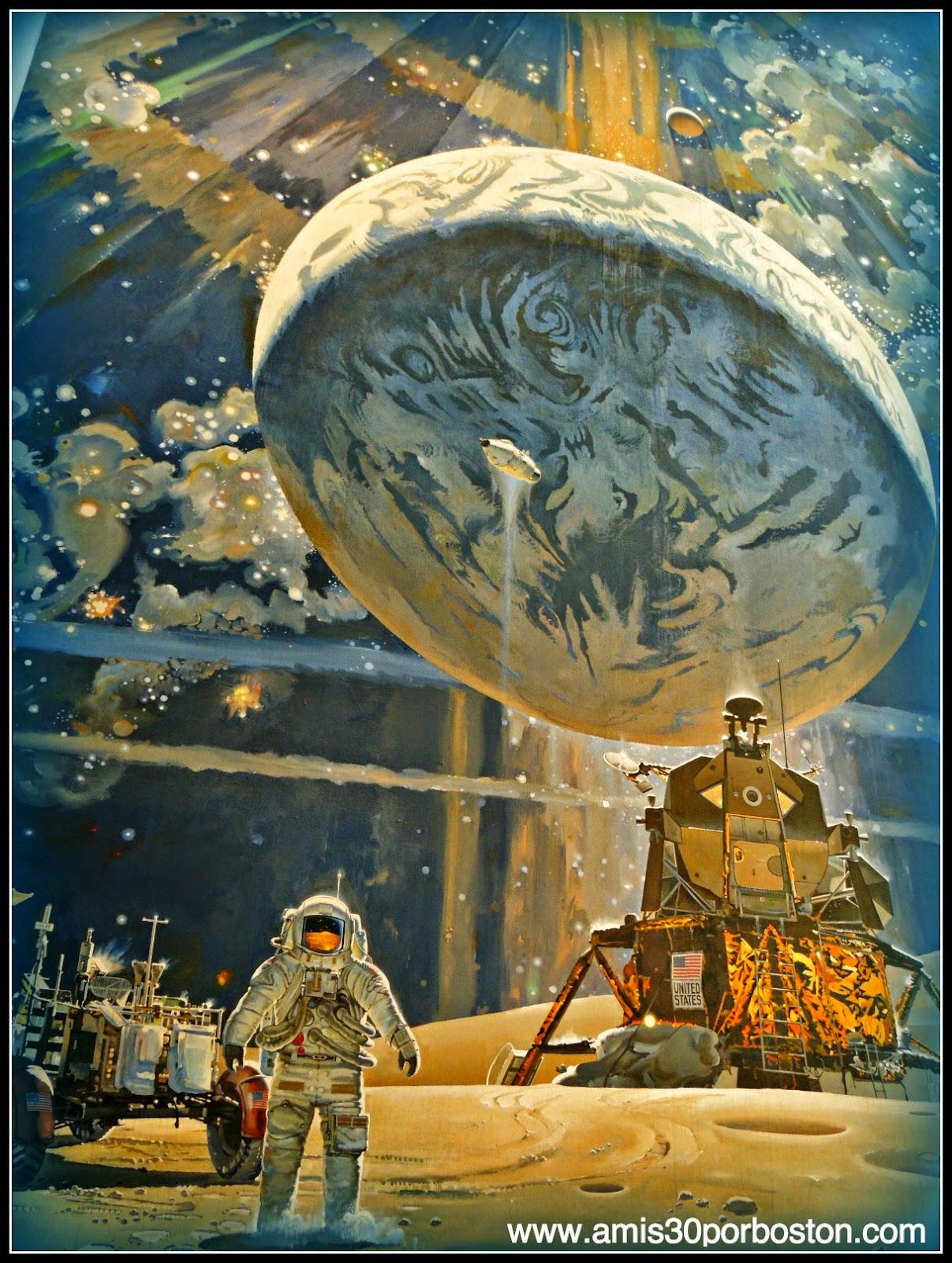 Museo Nacional del Aire y el Espacio de Estados Unidos: Robert T. McCall's The Space Mural