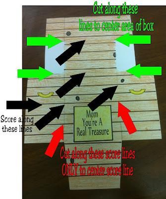 Treasure Box Score LInes