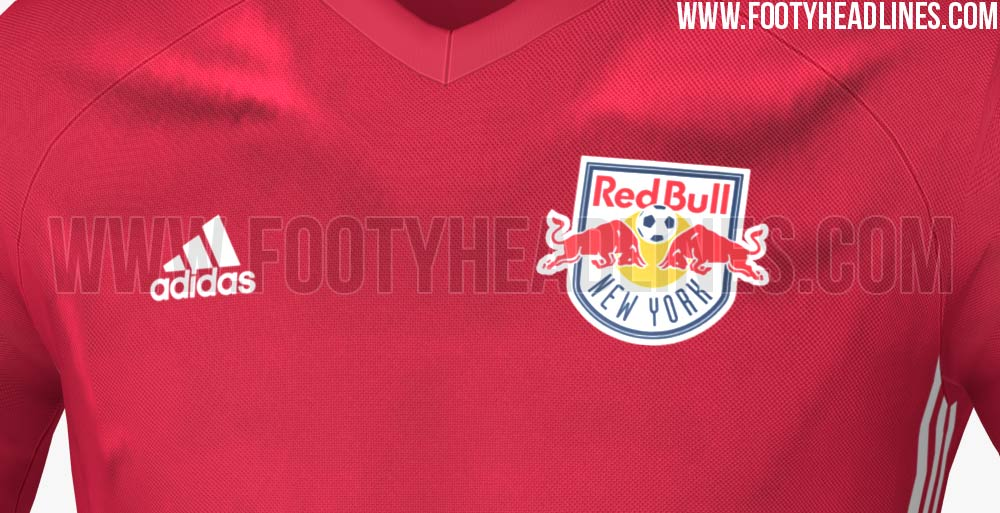 905473b17 The Adidas New York Red Bulls 2016 Training Kit introduces a bold  sponsorless design for the MLS club