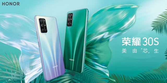 Honor 30S 5G With Kirin 820 SoC & Honor 9A With MediaTek Helio P35 Soc Launched In China,See Pricing & Specifications