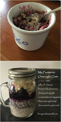 Overnight oats are a healthy choice