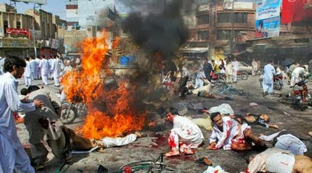 Dua Hari Setelah Membom Gereja, Pakistan Diguncang Gempa Dahsyat 350 Orang Tewas