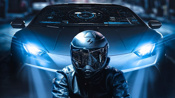 Motoqueiro Cyberpunk PC e Celular