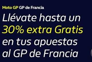 william hill Promo GP Francia MotoGP 11-10-2020