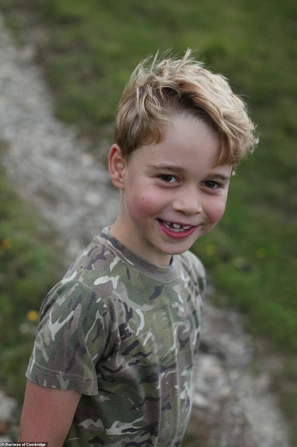 Happy Brithday Prince George! 7 Years Old!