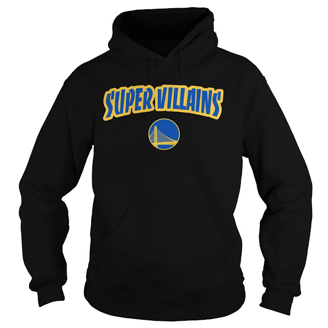 STEVE KERR SUPER VILLAINS GOLDEN STATE Hoodie, STEVE KERR SUPER VILLAINS GOLDEN STATE Shirts