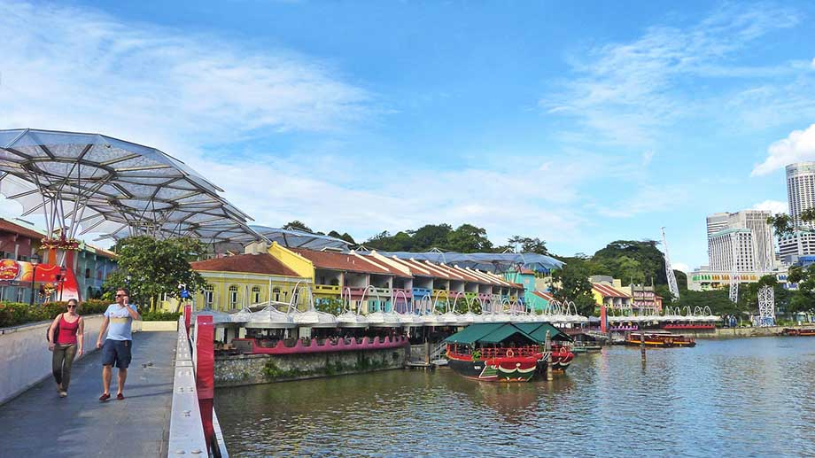 singapore walk