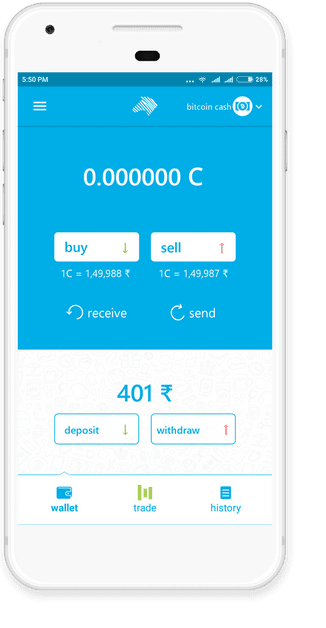 buy cryptocurrency in india app
