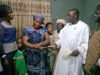 Ambode donates N5 million to wife of dead community leader