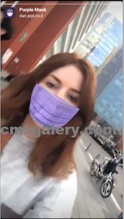 Filter Masker ungu di Instagram, adalah Filter Purple Mask instagram