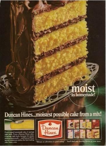 Vintage Advertising Duncan Hines