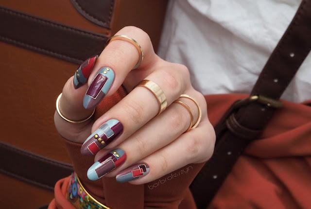 Geometryczne zdobienie | METROPOLITAN Nails Company