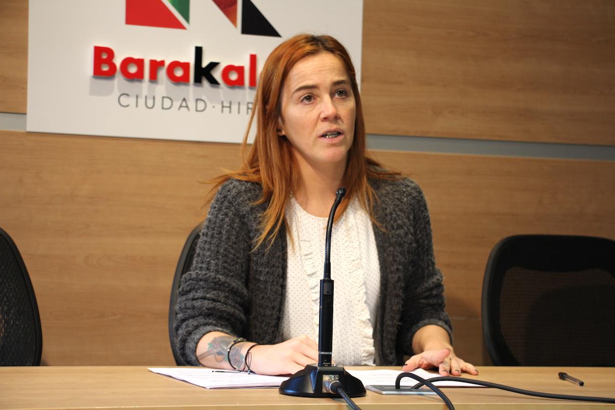 La concejala de Educación, Nerea Cantero (PNV)