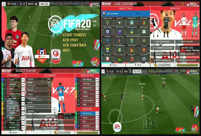 FTS Mod FIFA 20 Full Transfer