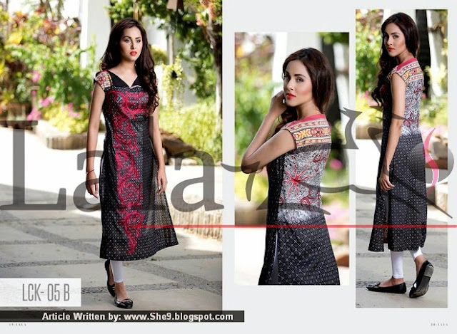 Lala Classic Embroidered Kurti Vol-2