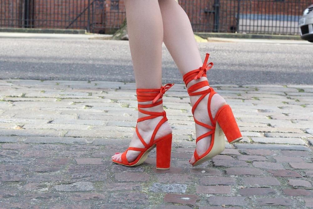 public desire lace up heels