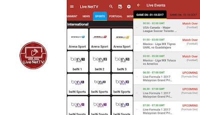 لايف تي في, تطبيق Live NetTV للأندرويد, تطبيق Live NetTV مدفوع للأندرويد, تشغيل قنوات OSN و Bein sports و جميع قنوات النايل سات المفتوحة والمشفره مجانا, Live NetTV apk