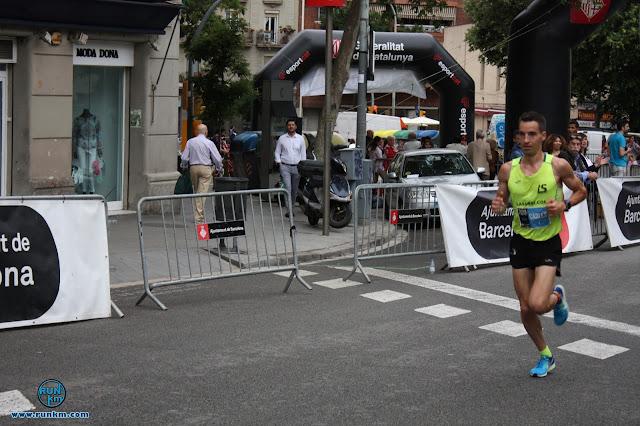Carles Montllor vencedor de la Cursa Les 10 Blaus de Gràcia 2017