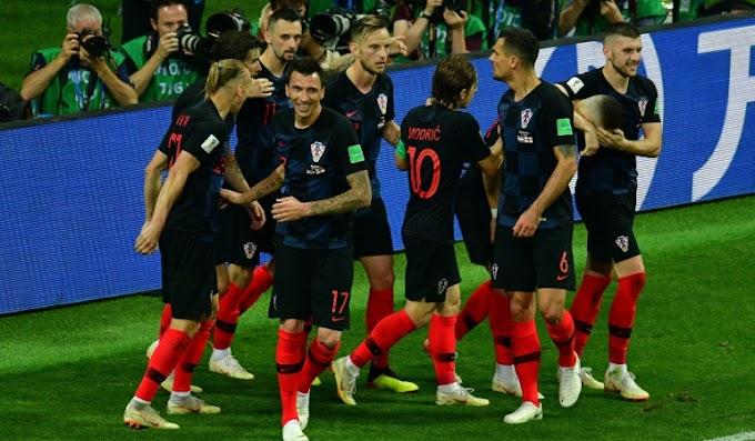 Croacia llegó a la final del Mundial de Rusia