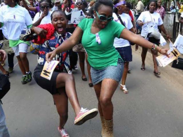 Nairobi Women Protest.