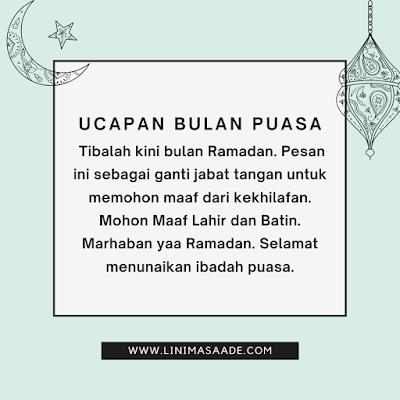 Ucapan Selamat Berpuasa Ramada