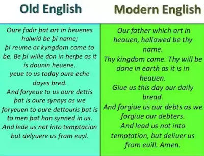 Thus it is seen that old English grammar was an extremely complicated affair. Modern English has got rid of most of the inflections and artificial distinctions. In modem English the relation between two words is expressed by their relative position in the sentence.
