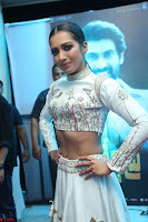 Catherine Tresa in Beautiful emroidery Crop Top Choli and Ghagra at Santosham awards 2017 curtain raiser press meet 02.08.2017 050.JPG