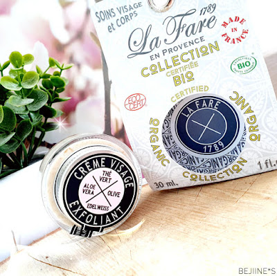 Crème exfoliante Lafare 1789 - Belle au Naturel Blog BEJIINES