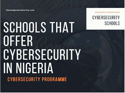 schools that offers cybersecurity in nigeria