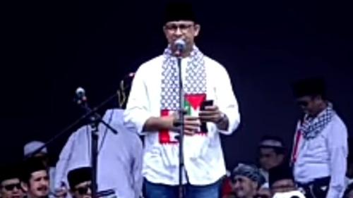 Anies Baswedan Pasang Lampu Nuansa Palestina, Eko Kuntadhi: Eksploitasi Ketertindasan Demi Citra Politik
