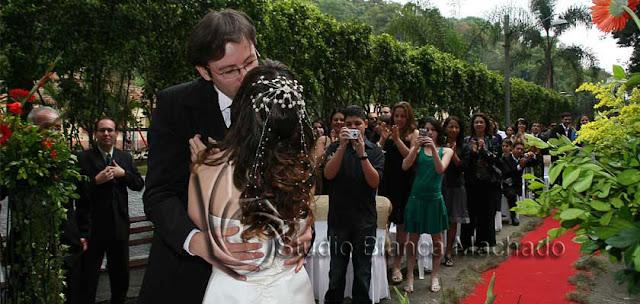 fotos de casamento em sitio