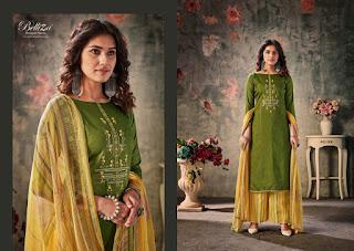 Belliza Designer Nazar E Patiyala Vol 4 Jam Cotton Salwar