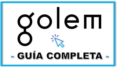 Comprar GLM COIN Guía Actualizada Español GOLEM COIN