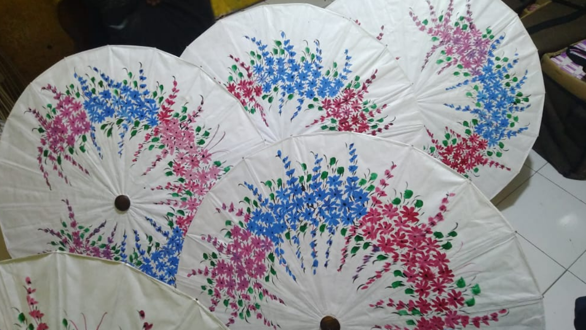 Kerajinan Payung Geulis Tasikmalaya