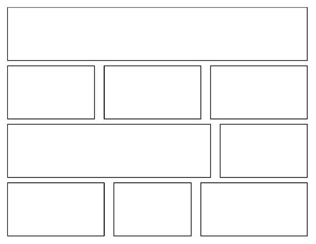 This is a photo of Printable Brick Pattern within line art