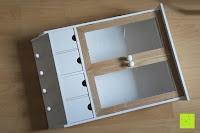 Erfahrungsbericht: Küchenschrank Wandschrank Hängeschrank 4 Haken 4 Schubladen 2 Glastüren Schrank