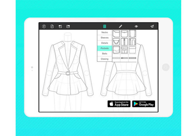 Download Fashion Design Flat Sketch